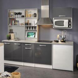 Keuken Spoon Glossy Grey