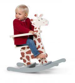 Cheval à bascule en forme de girafe