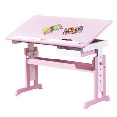 Bureau Dana kantelbaar werkblad - roze