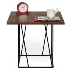 Table d'appoint Helix - rouille