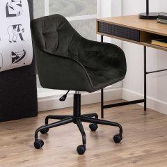 Chaise de bureau Bridget - noir