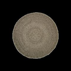 Vloerkleed - ø120 cm - raffia / zeegras - naturel