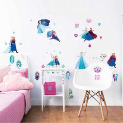 Walltastic 53 stickers muraux Disney La Reine des Neiges