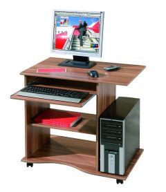Computertafel Adda - walnoot