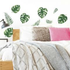 Muurstickers Palm Leaves
