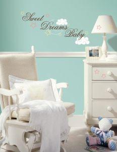 RoomMates stickers muraux - Sweet dreams baby