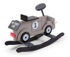 Auto schommelstoel - grijs