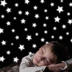 Muurstickers Stars Glow in the dark