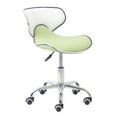 Chaise de bureau Spring - vert/blanc
