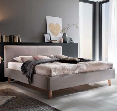 Bed Sem 160x200 - taupe