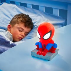 Nacht- en zaklamp Buddy Spider-Man