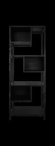 Open vakkenkast - ijzer - zwart