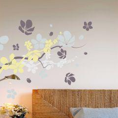 Sticker mural Branches & Flowers XL
