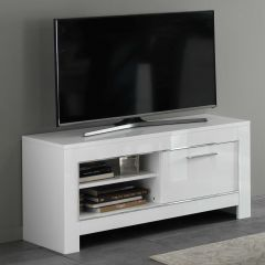 Tv-meubel Modena 112 cm - wit
