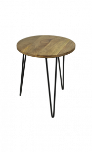 Table d'appoint - naturel / noir