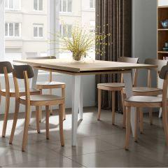 Verlengbare tafel Kim 134/174 - eik