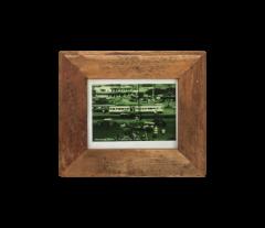 Cadre photo Antiq 27x23 cm - vieux teck