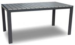 Tuintafel Jersey 160x90 – grijs