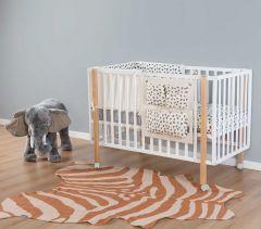 Vloerkleed Zebra 145x160 - nude