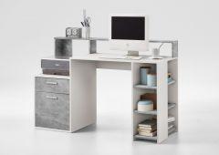 Bureau Elton - beton/wit