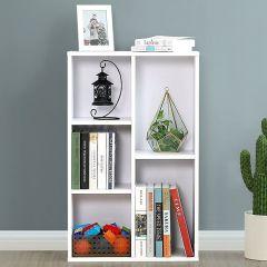 Bibliothèque Remus 5 compartiments - blanc
