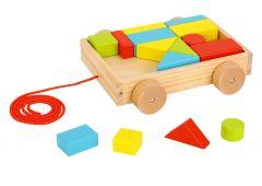 Chariot à blocs