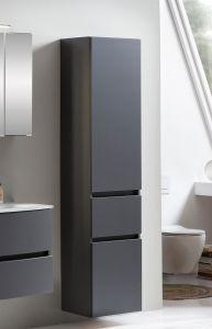 Kolomkast Kornel/Pisca 40cm 2 deuren & 1 lade - grafietgrijs
