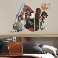 RoomMates muurstickers - Star Wars Classic Burst
