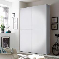 Kledingkast Wouter 125cm met 2 deuren - wit