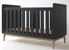 Babybed Pure 60x120 - zwart
