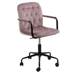 Chaise de bureau Wendoline - vieux rose
