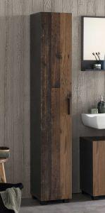 Kolomkast Casa - hout/grafiet