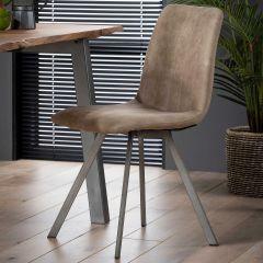 Set van 4 stoelen Jasmine - taupe