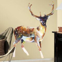 RoomMates muurstickers - Deer Wearing Gym Socks
