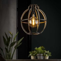 Hanglamp Imani - oud zilver