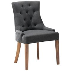 Set van 2 stoelen Fancy - antraciet