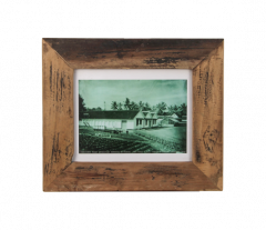 Cadre photo Antiq 43x36 cm - vieux teck