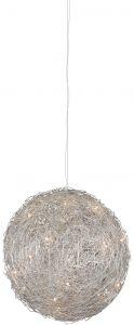 Hanglamp Wire Ball Ø40cm - 8x10w G4