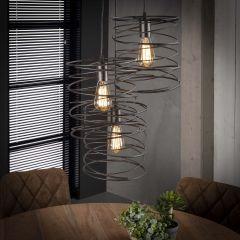 Hanglamp Curl 3xØ40cm