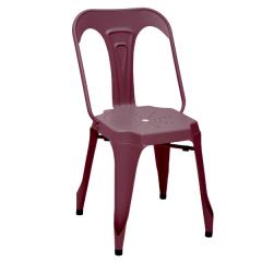 Lot de 2 chaises Industry - rouge