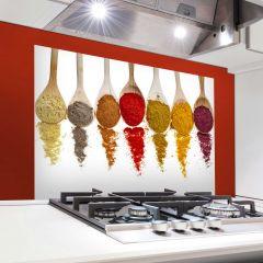 Muursticker Spoons achterwand keuken