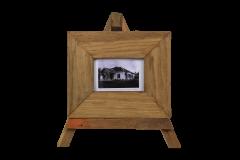 Fotolijst - small - 27x23 cm - teak