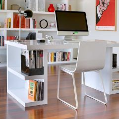 Bureau Multis 160cm - wit