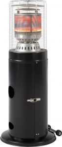 Terrasverwarmer Lounge - zwart