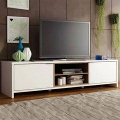 Tv-meubel Trent 180cm met 2 deuren - wit