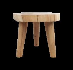 Salontafel - ø45 cm - munggur