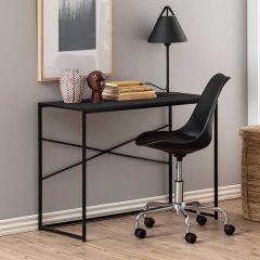 Sidetable/bureau Dover 100cm industrieel - zwart
