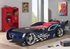 Lit voiture Grand Turismo - bleu