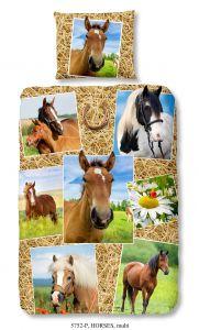 Housse de couette Horses 140x220