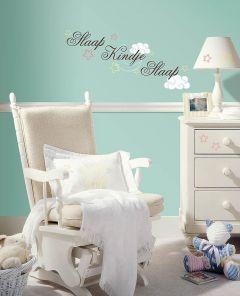 RoomMates stickers muraux - Slaap kindje slaap
